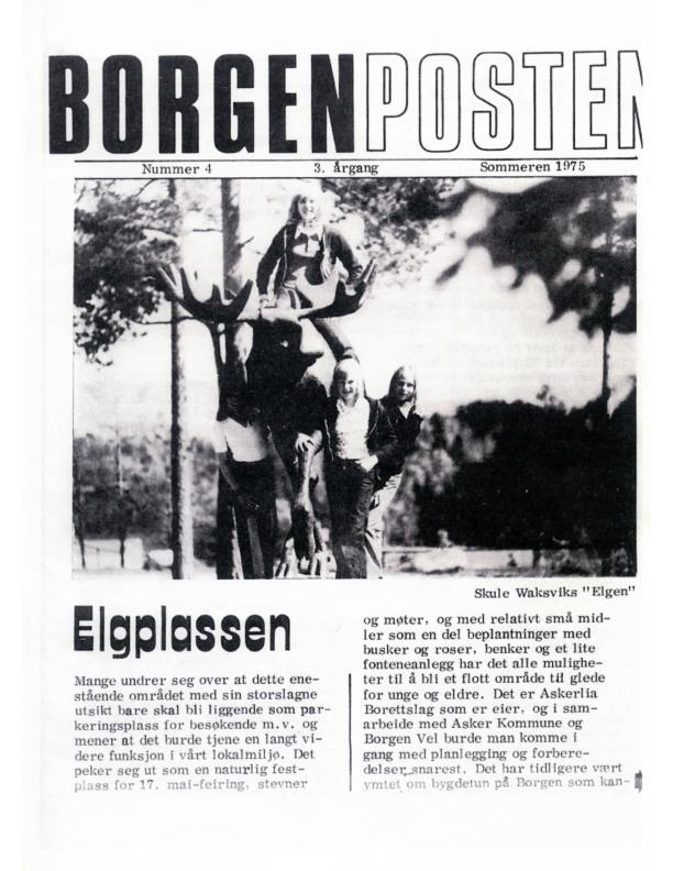 5. BP Sommeren 1975