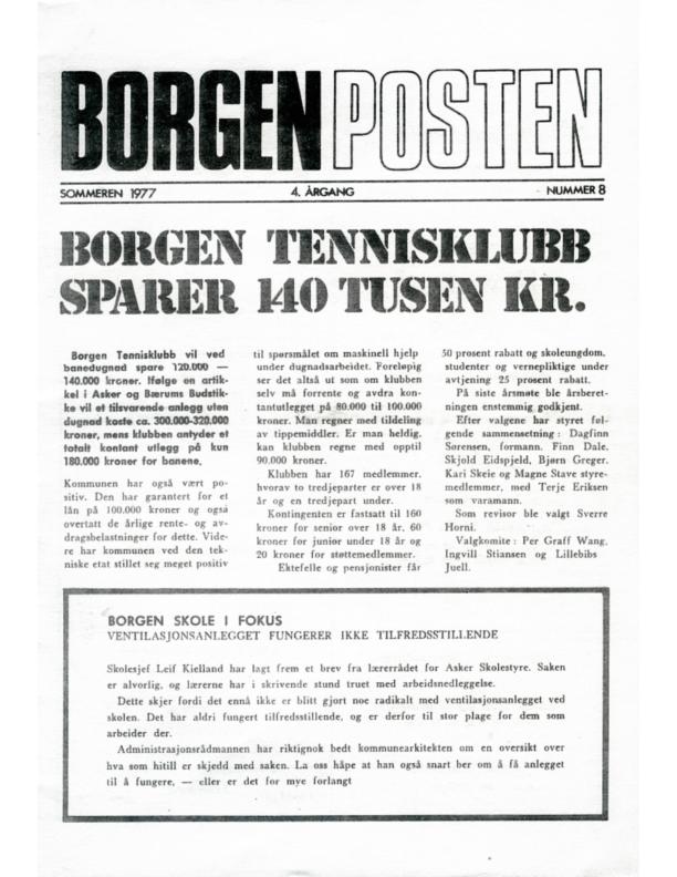 9. BP Sommeren 1977