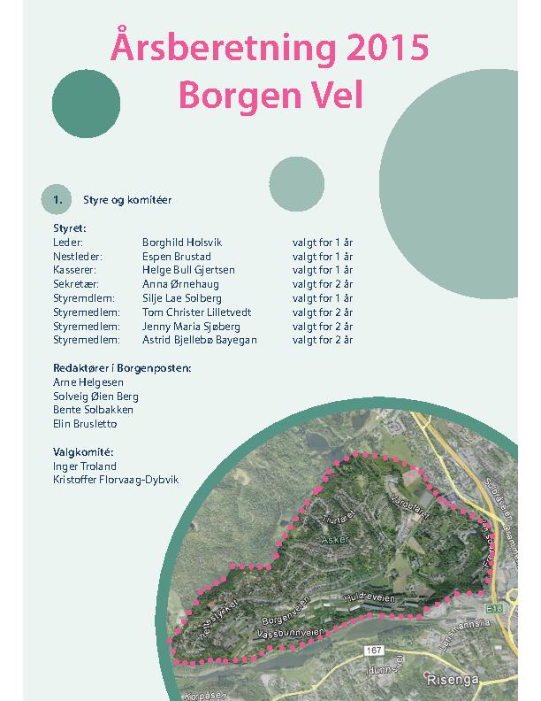 BV 2015 Årsberetning